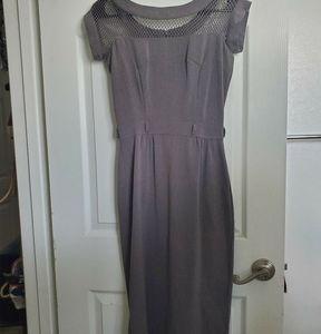 Bettie Page Tatyana retro fishnet wiggle dress